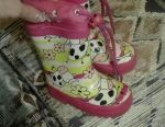 Warm rubber boots, 21 rr.