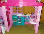 Barbie's house and Barbie doll as a gift