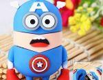 Funny 16GB USB flash drive Minion Captain America