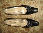 Pantofi de damă mărime 40, negru - second-hand