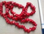 Boncuklar kırmızı SSCB