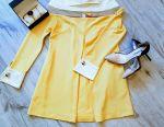 Dress new yellow