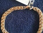 Silver chain + bracelet.