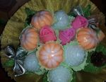 Handmade soap bouquets for New Year