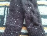 I will knit custom mittens for children and adults.