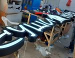 3D letters, signboards