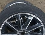 2 alloy wheels with winter tires 235 50 19
