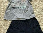 Комплект шортики и 2 футболки