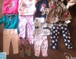 Пакет вещей на девочку от 6м до 3 лет