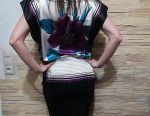Μπλούζα μετάξι νέο Oji