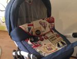 Stroller 2 in 1 Adamex Barletta London