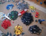 A lot of Lego in bulk, 13 kg