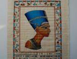 Egyptian Papyrus Nefertiti