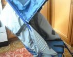 Sledge- stroller almost new