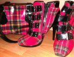 Τα παπούτσια Batilion μπότες γυναίκες. Ως τσάντα δώρων.