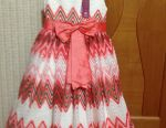 Dress new on the girl of 5-7 years