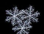 Decoration 3 snowflakes