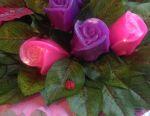 Букетик троянд з мила