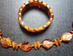Jewelry Set (faux amber)