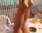 Legs for stockings and tights
