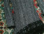 Black tunic with white tunic