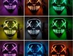 Neon maske Yargı gecesi