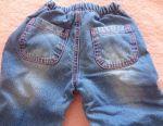 Утеплені джинси на 1-2 роки