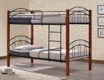 Κουκέτα Κρεβάτι Simple Μέταλλο Ξύλο 90x190