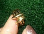 Χρυσό δαχτυλίδι 585 δείγμα 5 γραμμάρια