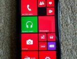 Nokia Lumia 625 smartphone.