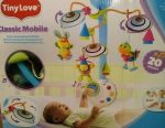 Mobile to the cot (musical carousel)