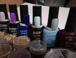Gel lacquers.
