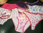Bebek külotu ve genç kızlar için
