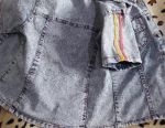 Denim shirt για ένα κορίτσι 4-6 ετών