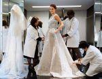 Wedding dress and evening dress