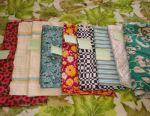 Cotton fabric cuts