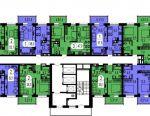 Apartment, 1 room, 37.9 m²