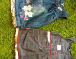 Jeans sarafans, dresses (Turkey, France)