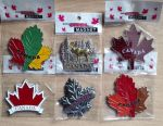 Orașe cu magnet de frigider din Canada