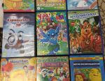 Discs with 1s cartoons