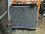 Engine cooling radiator