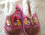 Baby shoes. Slippers.