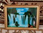 Картина водоспад