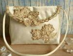 Bride's handbag