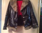 Sell winter jacket genuine leather 42-44 times