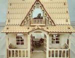Дерев'яний ляльковий будиночок Кантрі
