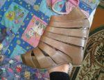 Sandals, Real Carlo Pasolini. Kozha.Khor