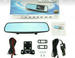 Car mirror and video recorder