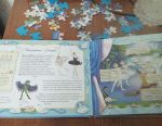 The book is a puzzle