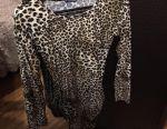 Φόρεμα με λεοπάρδαλη